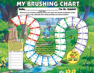 Motivating Your Child to Brush Their Teeth toothbrushing-chart-motivation-child-1