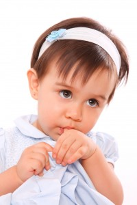 """Baby girl Thumb Sucking and Pacifiers """"Non-nutritive Sucking Habits"""""""